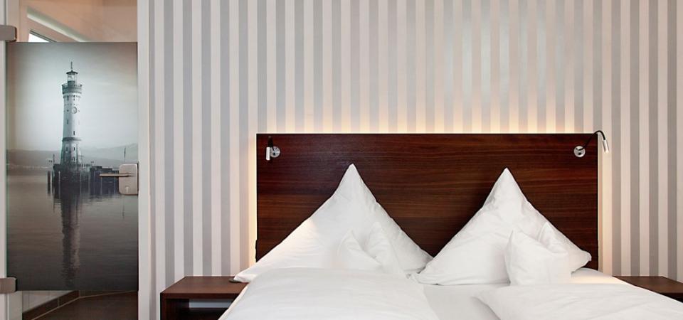 Unsere Betten laden zum Träumen ein ...